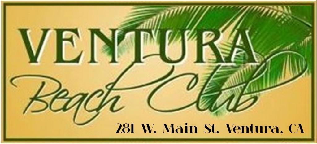 Ventura Beach Club logo with address small
