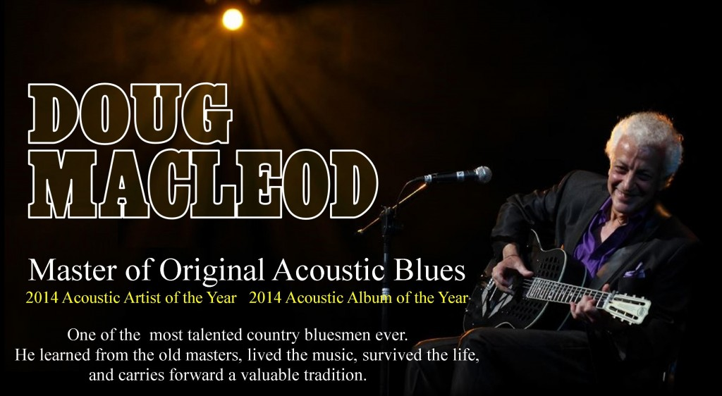 DOUG ACOUSTIC BLUES poster